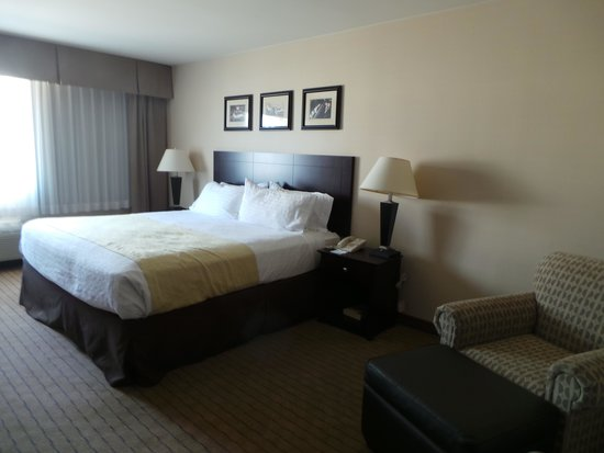 Holiday Inn Express Los Angeles-LAX Airport : chambre