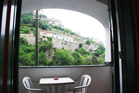 La Pergola Hotel: Bogenblick