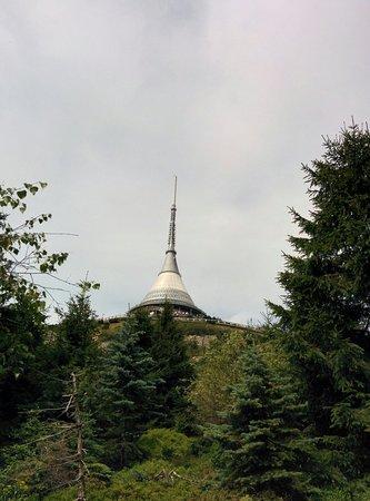 Liberec Region, Czech Republic: Ještěd Tower