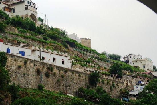 La Pergola Hotel: Blick nach oben