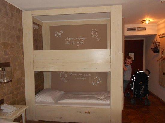 Hôtel El Andaluz : les lits superposés pour les enfants