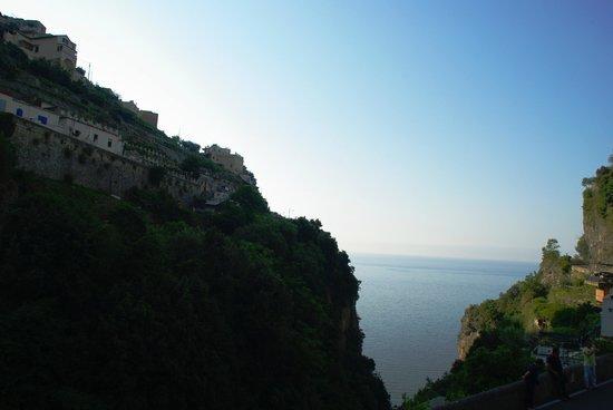 La Pergola Hotel: Blick aus dem Zimmer/Balkon