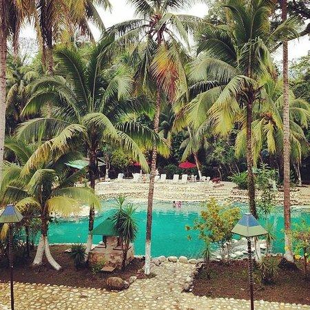 Chan-Kah Resort Village: Pool View from restaurant