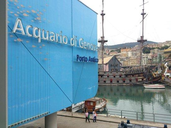 Acquario di Genova: Entrata Acquario