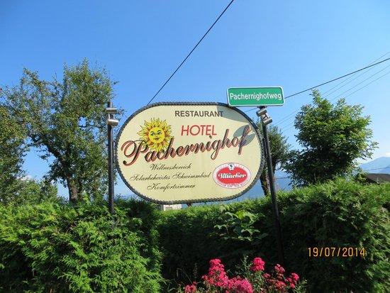 Hotel Pachernighof: indicazione dell'hotel