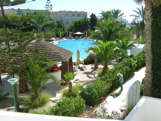 SENTIDO Aziza Beach Golf & Spa: Pool From 1st Floor Balcony