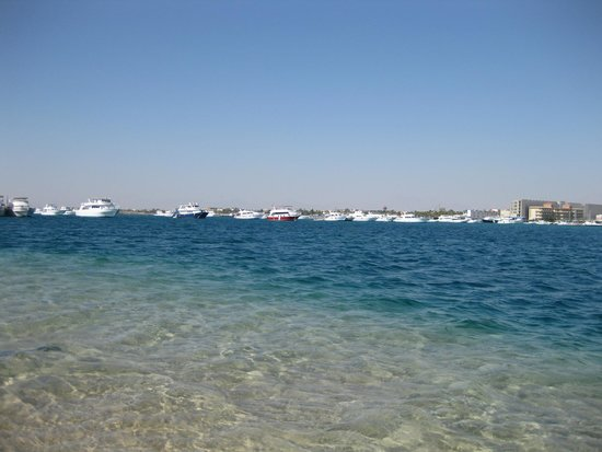 Siva Grand Beach Hotel: Где потемнее там и глубже