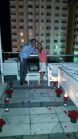 Gale South Beach: Beautiful setting for Proposal