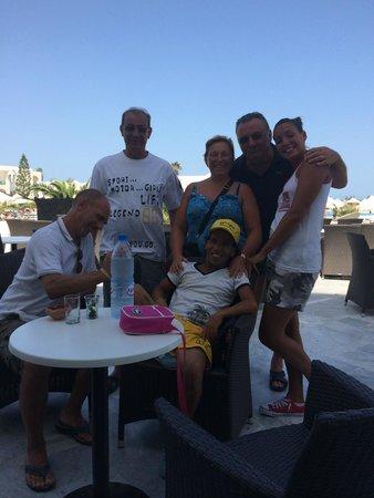 Vincci Helios Beach : terrazza hotel.. aperitivo