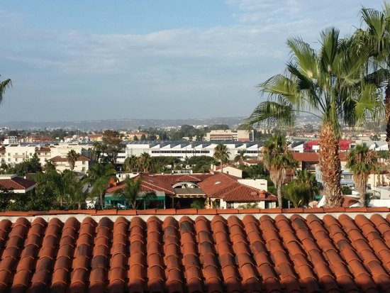 Best Western Plus Hacienda Hotel Old Town: View from our room