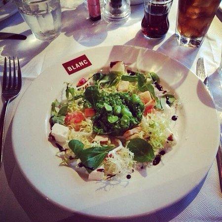 Brasserie Blanc : Broad Bean, Pea & Feta Salad ��