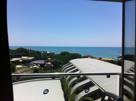 Limak Atlantis Deluxe Hotel & Resort : Blick vom Balkon