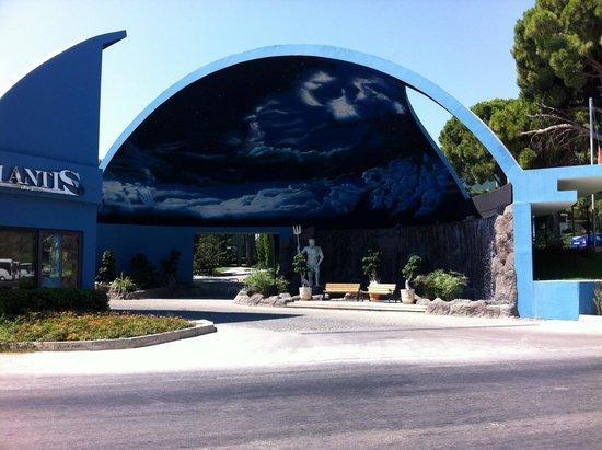 Limak Atlantis Deluxe Hotel & Resort: Hotel Eingang