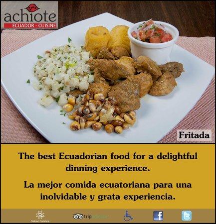 Exquisita fritada picture of achiote ecuador cuisine for Achiote ecuador cuisine