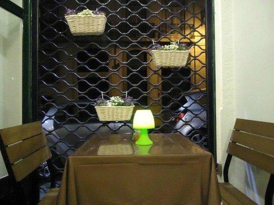 Ha Cafe no Alfarrabista: Mesa Romântica