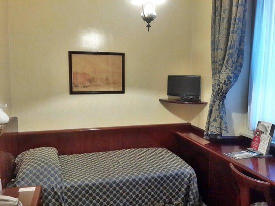 Hotel Nord Nuova Roma: Single room