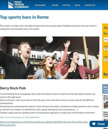 Derry Rock Pub : Top Sport Pub