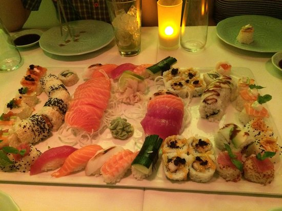 Dots - experimental Sushi : A great selection