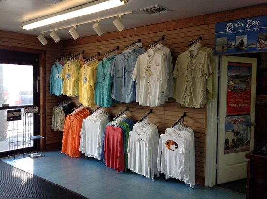 Queen Isabella State Fishing Pier: Fishing apparel