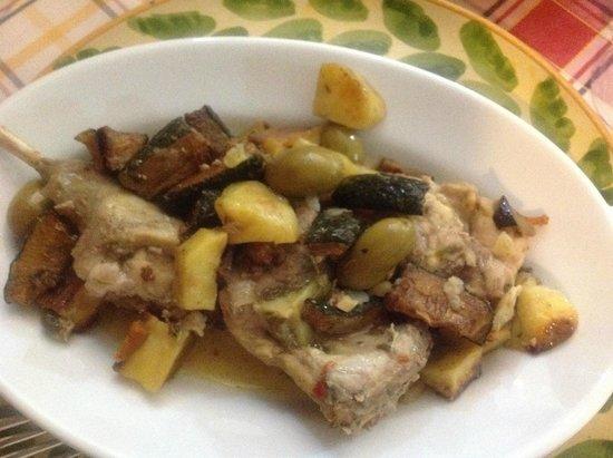 A Putia ro vinu: Rabbit Stew