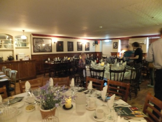 An Evening of Food, Folklore and Fairies: First to arrive, beautiful room and magical atmosphere!!