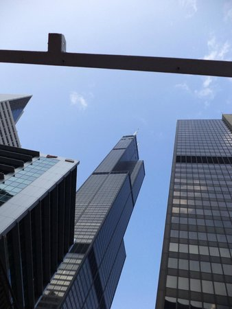 Skydeck Chicago - Willis Tower : Street view