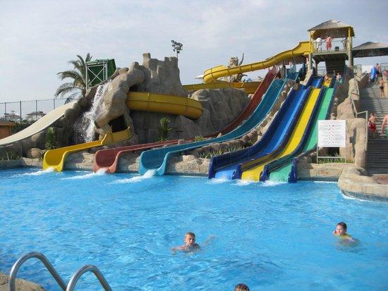 Silence Beach Resort: wather park