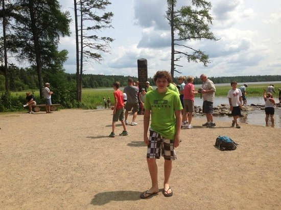 Itasca State Park : At The Headwaters