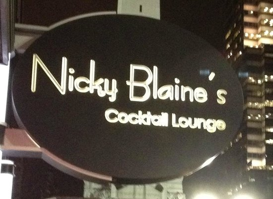 "Nicky Blaine's Cocktail Lounge: Established in 1998, Nicky Blaine's is a ""must-do"" for visitors and city dwellers."
