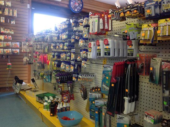 Queen Isabella State Fishing Pier: All your tackle needs