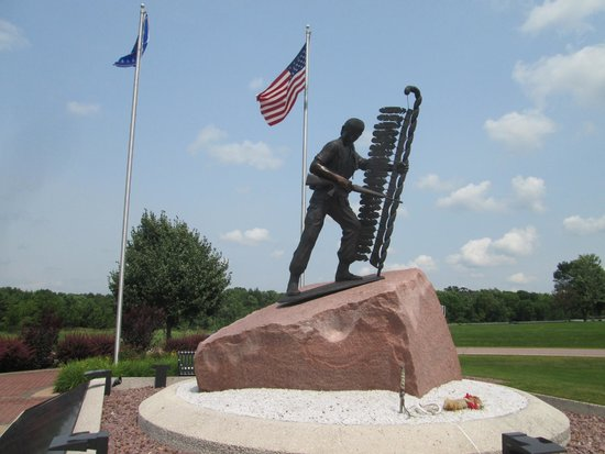 The Highground Veterans Memorial Park: Memorial to all native American servicemen and women
