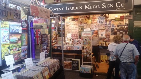 Covent Garden Metal Sign Company