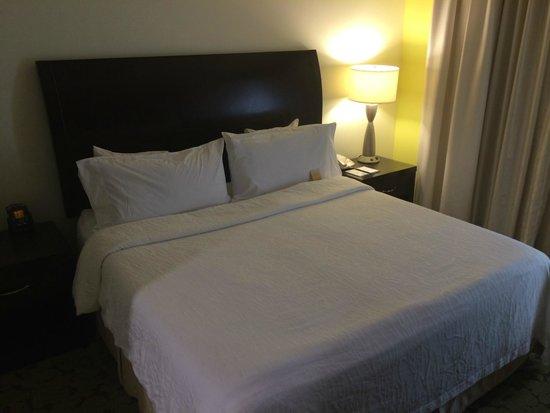 Hilton Garden Inn Dallas Lewisville : Bed