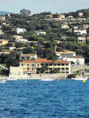 U paradisu: vue depuis la navette Porticcio-Ajaccio