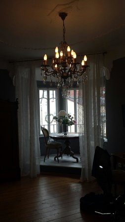 Villa Delange : Eines der Zimmer