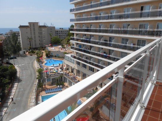 Hotel Oasis Park Splash: zicht van uit onze kamer