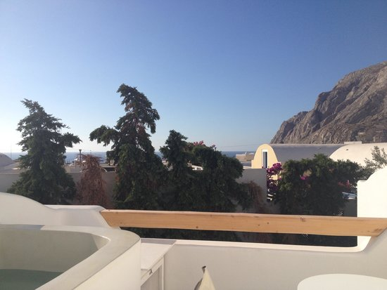 Cavo Bianco : view from the room