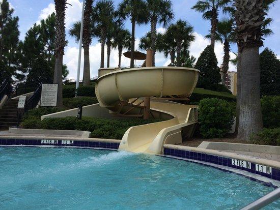 Waldorf Astoria Orlando : Water slide at Hilton next to Waldorf