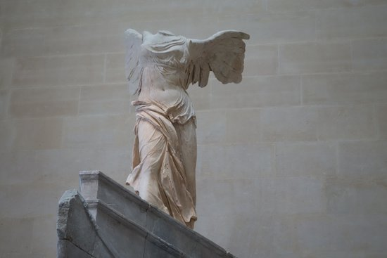 City Wonders: Winged Victory of Samothrace