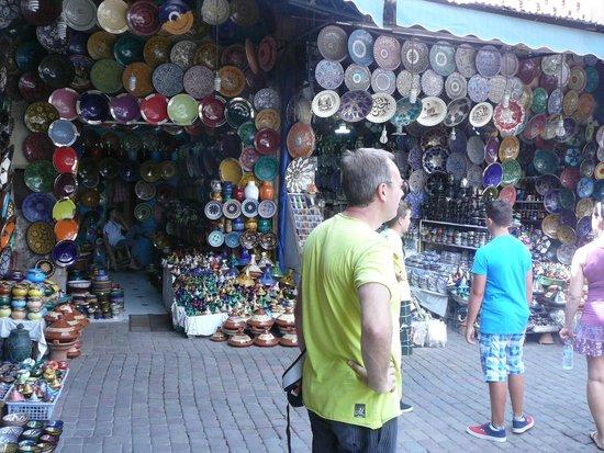 Suq von Marrakesch: Souk van Marrakech