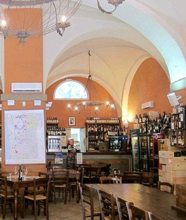 Enoteca Tognoni: Interior do Restaurante