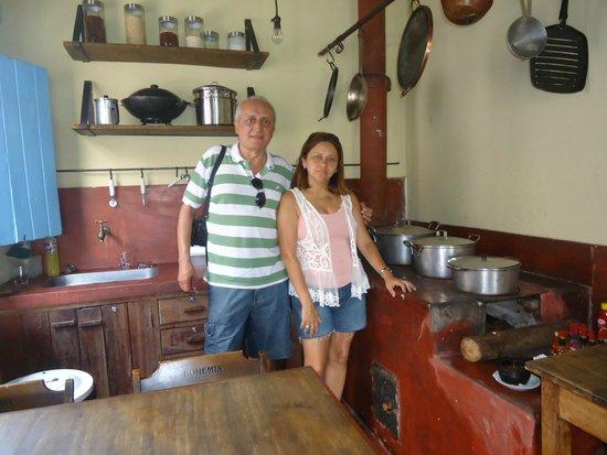 Emporium Armazem Mineiro: Cozinha de decoração