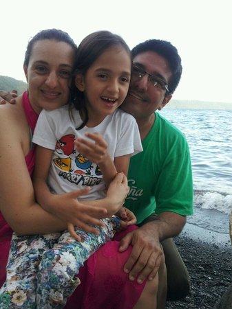 Laguna de Apoyo: Mi familia