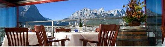 Murrieta's Restaurant: Mountain views
