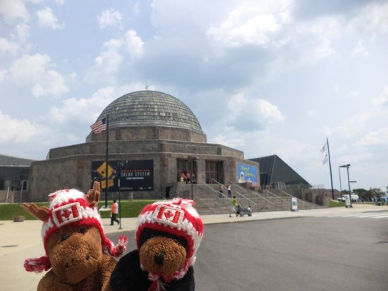 Adler Planetarium: Outside