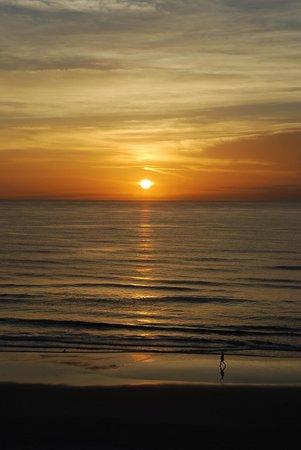 Catalina Beach Club : sunrise on the beach