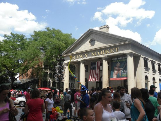 Boston Common : Quincy Market in Boston