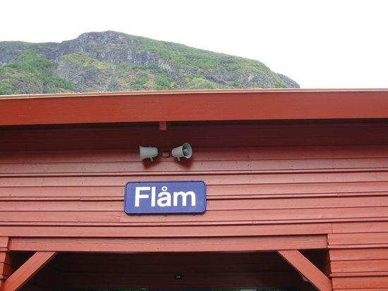 The Flam Railway : Estación Flam