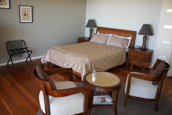 At Sunrise Cottages: Cottage interior