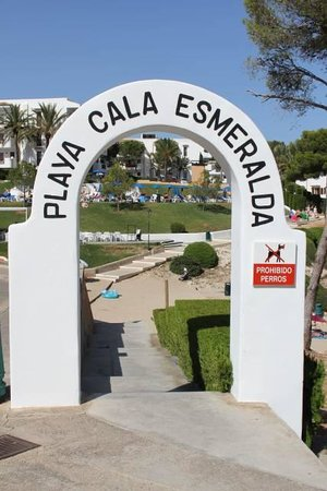 Inturotel Esmeralda Park: Zugang Strand